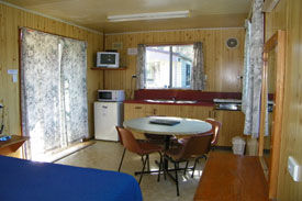 conventional cabin